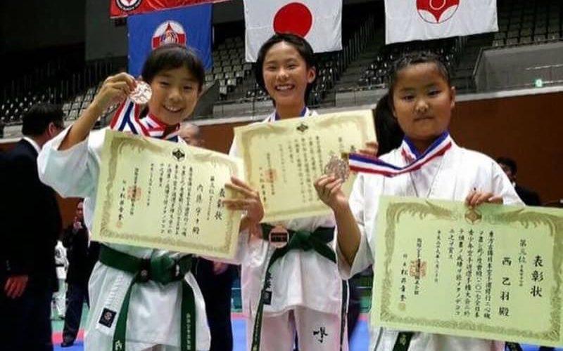 2017極真祭(一般部以外の全日本大会)当支部選手入賞者結果