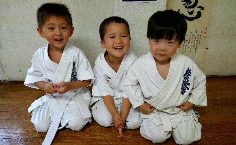 極真空手キッズ  2歳、3歳児