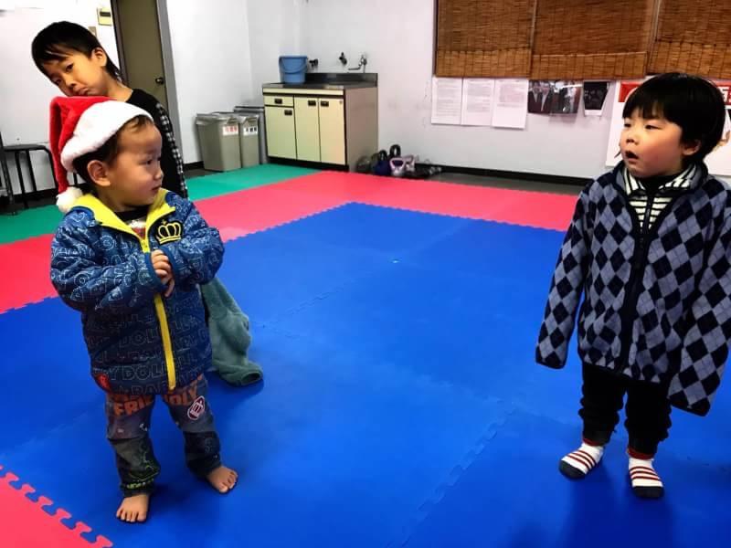 空手  豊橋  豊川  クリスマス会  忘年会