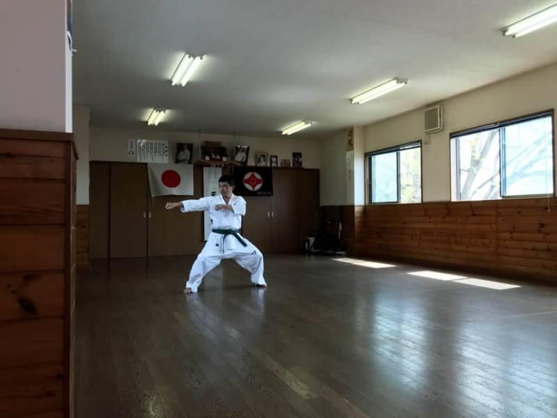 極真空手  愛知県東三河支部  春季昇級審査会
