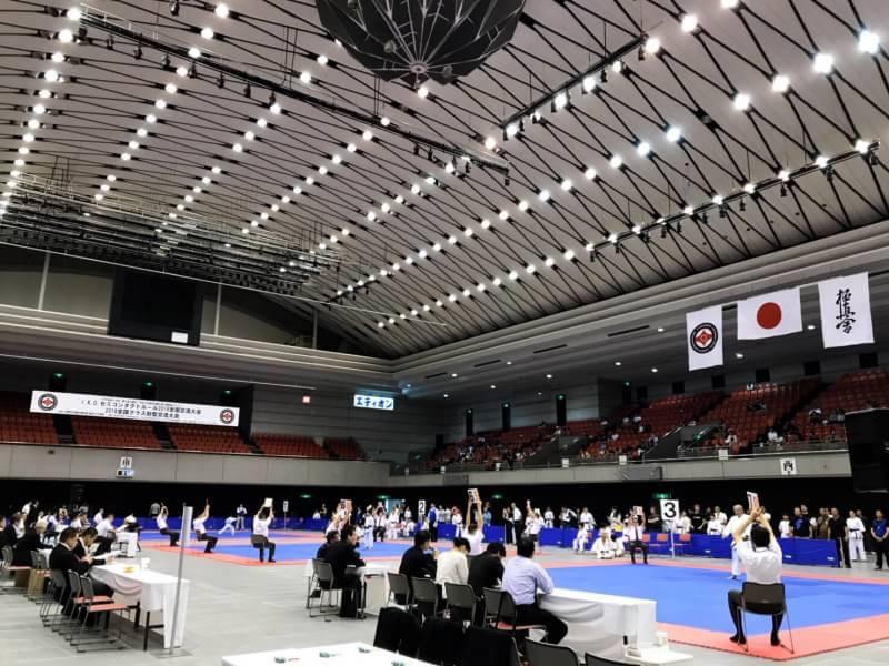IKOセミコンタクトルール2018全国交流大会・全国クラス別型交流大会 初日