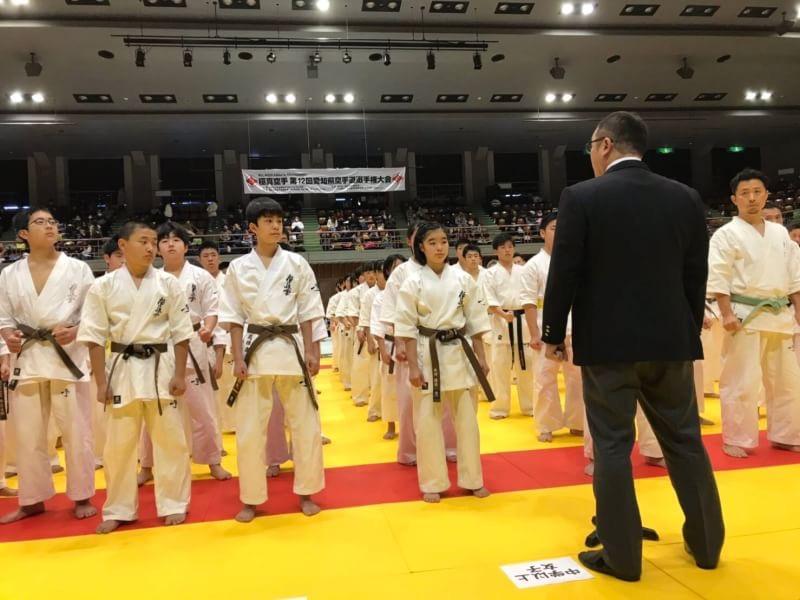 第12回愛知県空手道選手権大会