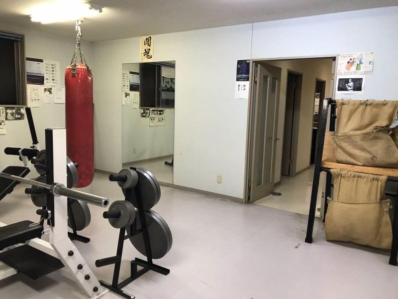 蒲郡道場 一階 トレーニングルーム