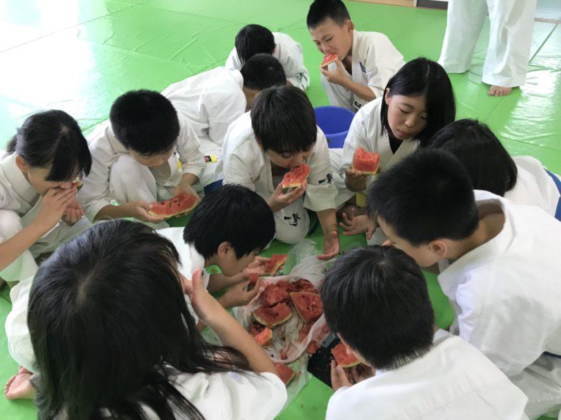 支部夏合宿2日目