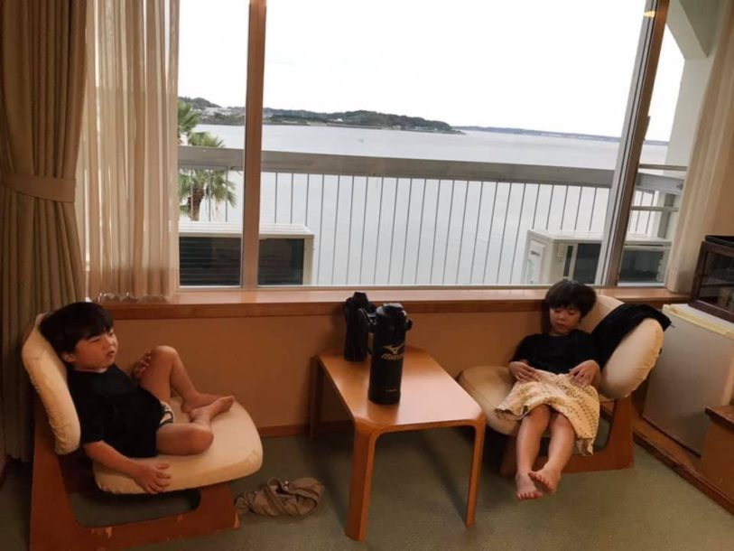 秋の親睦合宿 宿舎ホテル