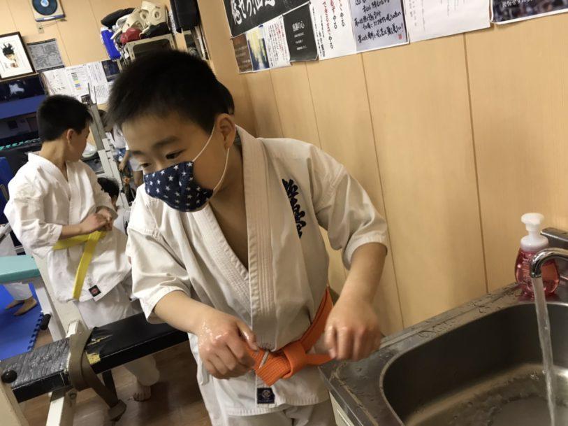本日の浜松西伊場道場幼少年少女部