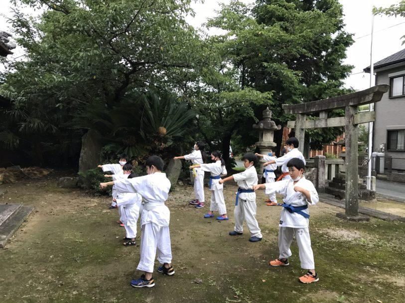 愛知東三河支部夏季追加昇級審査会