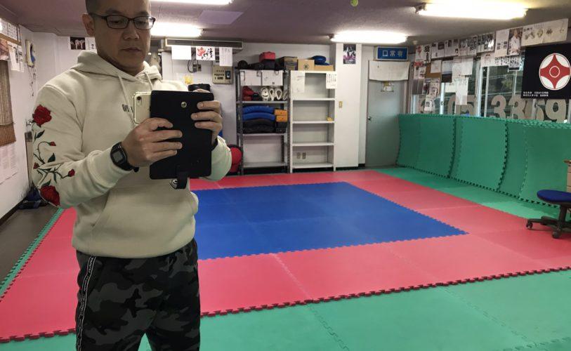 日中の筋力トレーニングと稽古指導前の自身の稽古